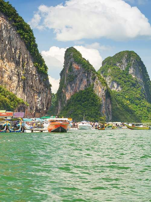 View of the Phand Nga Bay