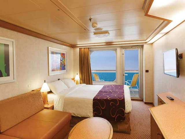 Cabin with balcony Costa Diadema