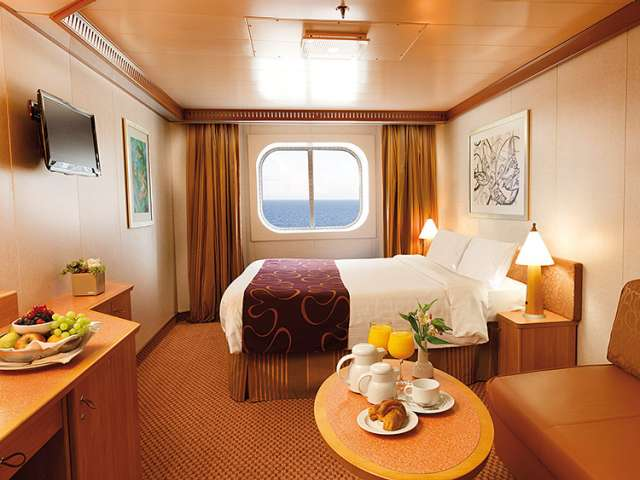 Costa Fortuna external cabin
