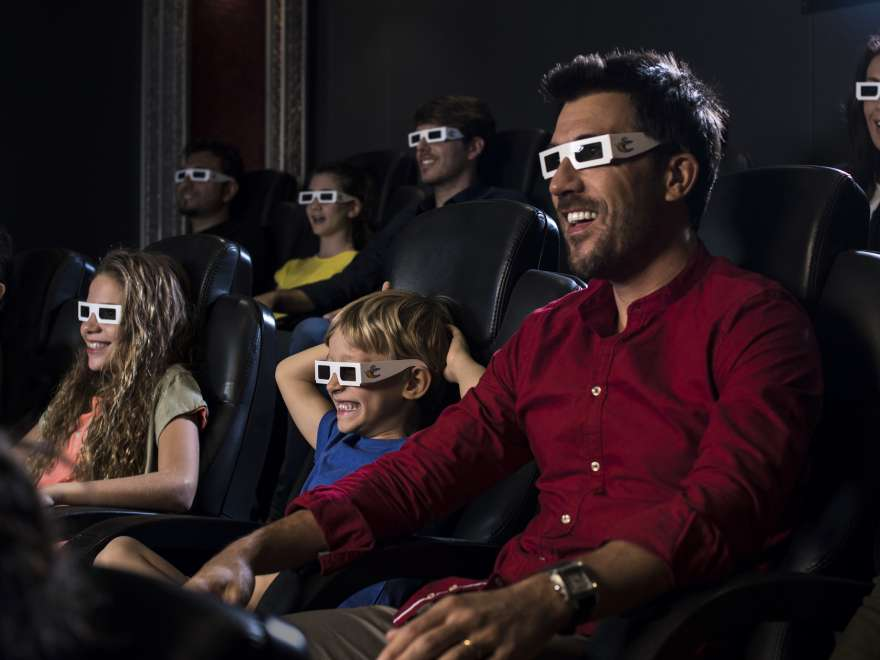 The 4D cinema aboard Costa ships