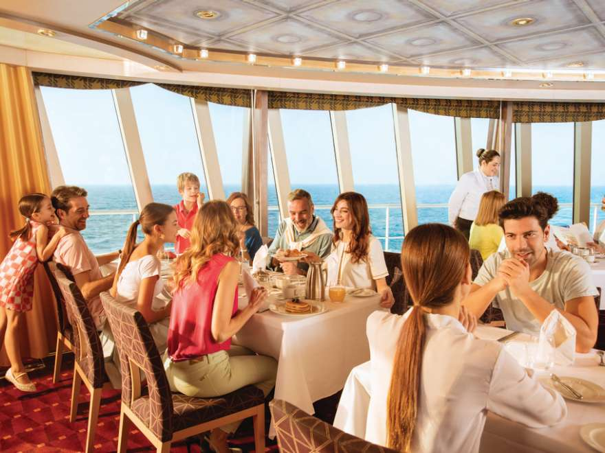 Classic restaurant Costa Cruises