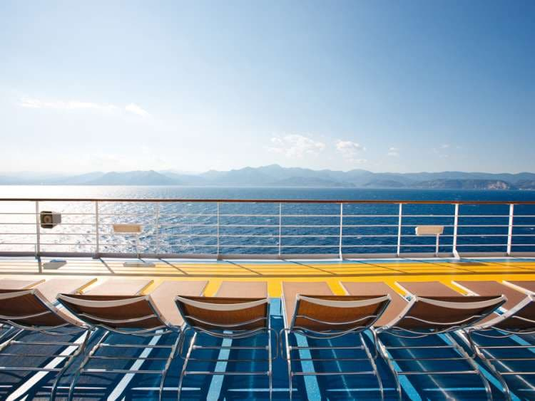 The exclusive lido aboard Costa ships
