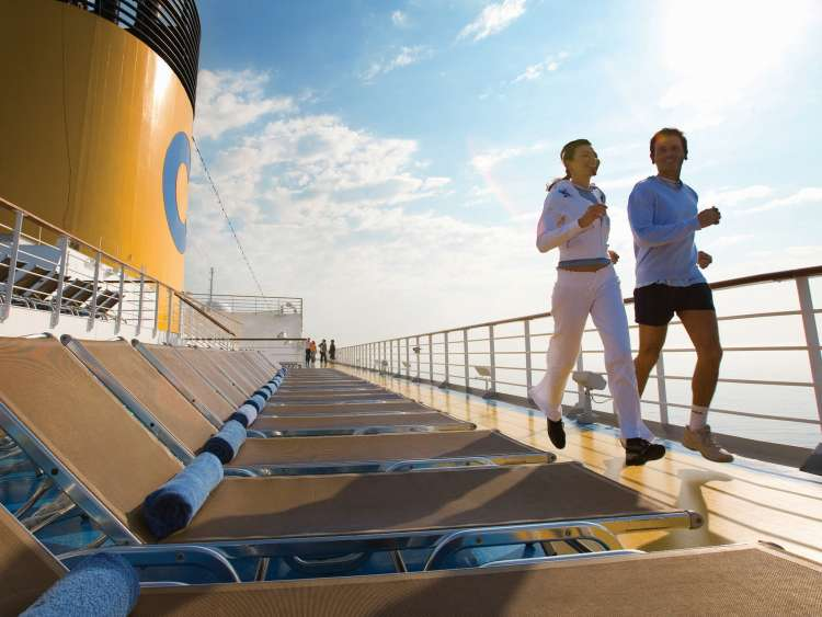 Jogging route | Costa Cruises
