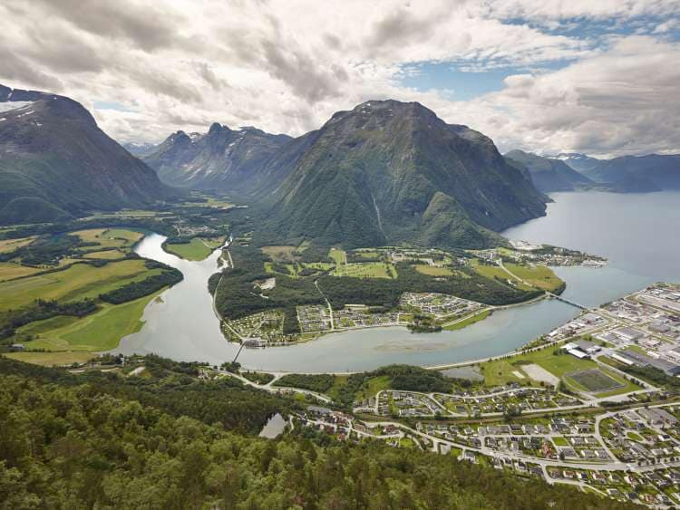 Andalsnes with Costa Cruises