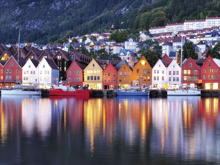 Bergen and Northern Europe on a Costa Cruise