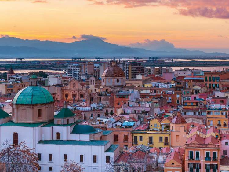 Sardinia and its capital Cagliari with Costa Cruises