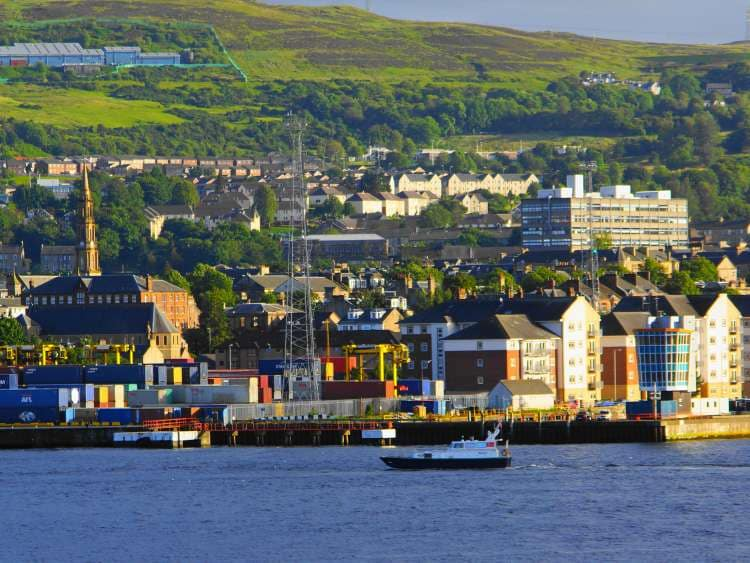 Visit the Port of Greenock with Costa Cruises