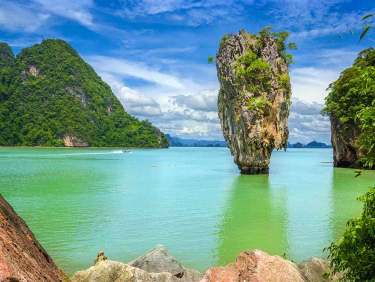 The  crystal-clear waters of Phuket on a Costa Cruise