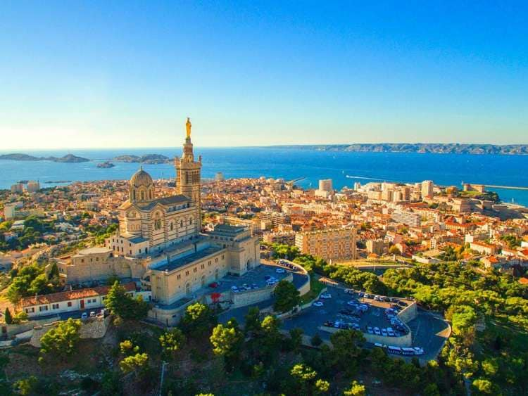 The beautiful city of Marseille with Costa Cruises