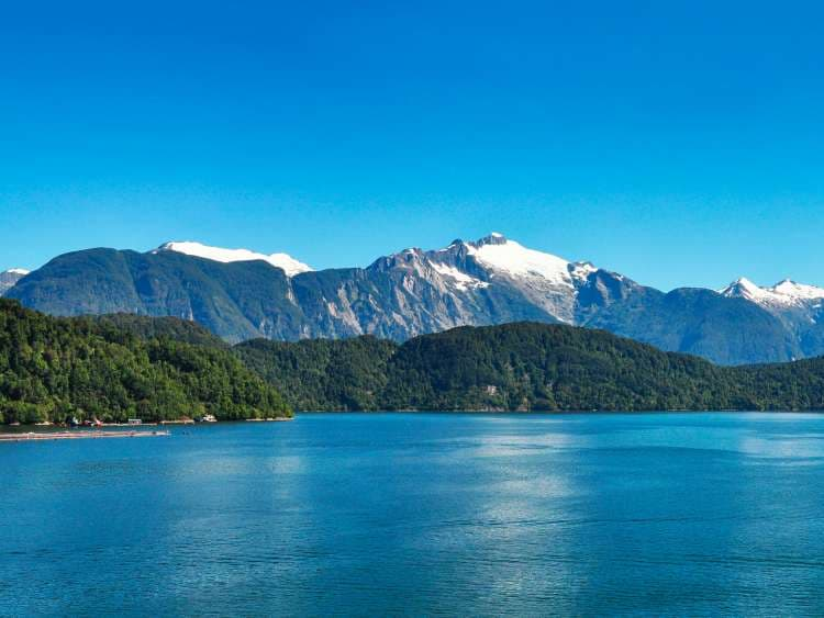 Puerto Chacabuco with Costa Cruises