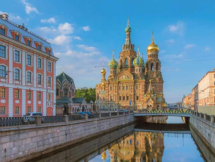 St. Petersburg with Costa Cruises