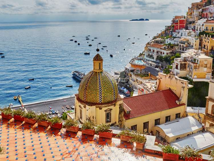 Salerno with Costa Cruises