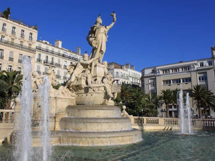 Toulon with Costa Cruises